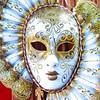 Venetian Carnival Mask, Venice, Italy